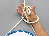 Вязание булиня на себе